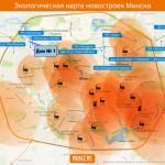 Экологическая карта Минска